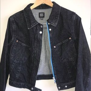 Urban Outfitters BDG black denim jacket